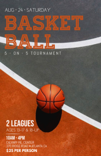 Basketball Tournament แทบลอยด์ template