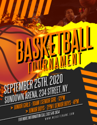 Basketball Tournament Flyer