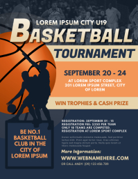 Basketball Tournament Flyer TEmp