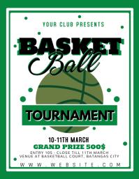 BASKETBALL TOURNAMENT - green