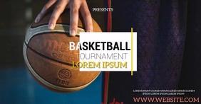 BASKETBALL TOURNAMENT SOCIAL MEDIA template auf Facebook geteiltes Bild