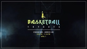 Basketball Tournaments Video Ad template