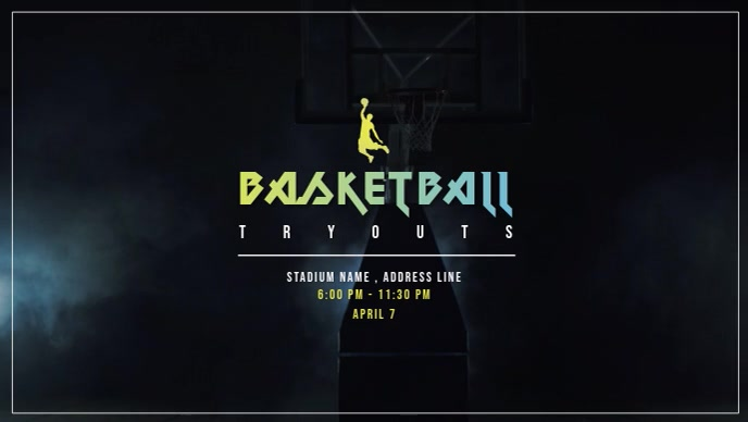 Basketball Tournaments Video Ad