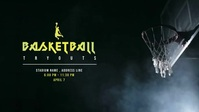 Basketball Tournaments Video Ad Facebook-Covervideo (16:9) template
