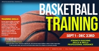 Basketball Training Image partagée Facebook template