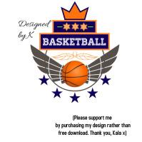 Basketball USA Team Club Logo template