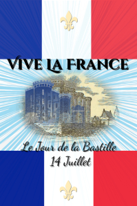Bastille Day celebration/ France