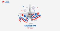BASTILLE DAY Facebook Ad template