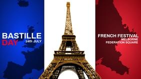 Bastille Day French Festival Template