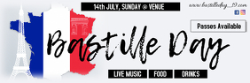 Bastille day template/ banner