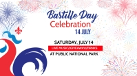 Bastille Day Twitter post template