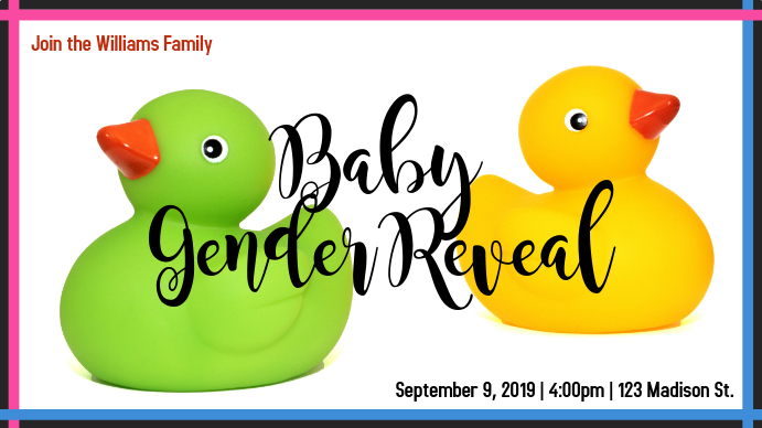 Bath Ducks Baby Reveal