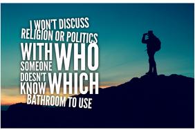 Bathroom Confusion Faith