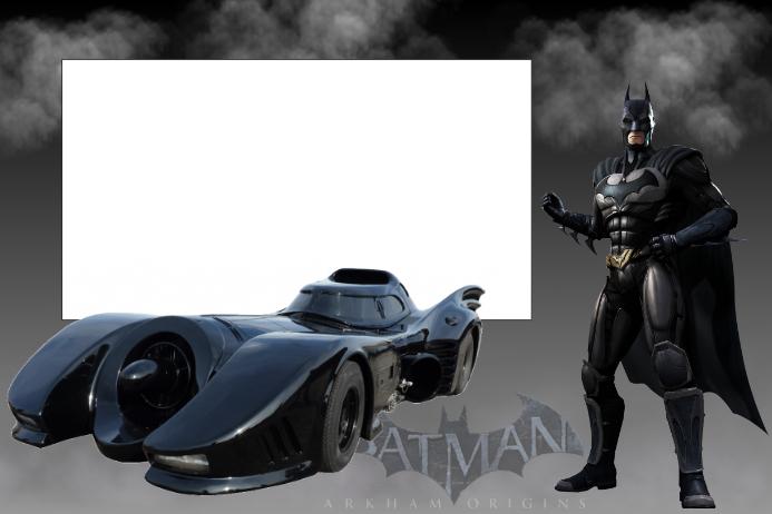 Batman Party Prop Frame