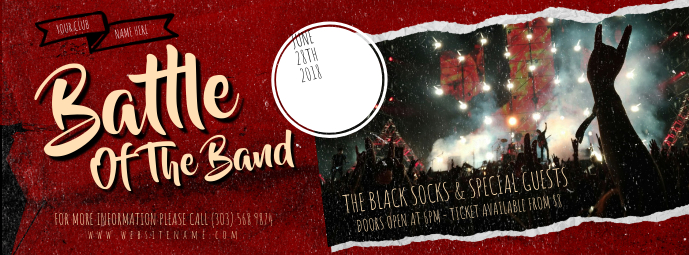 Battle of The Band Facebook Cover