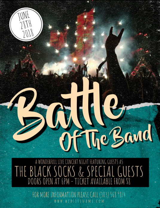 Battle of The Band Flyer