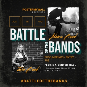 battle of the bands instagram template
