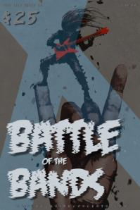 Battle of the Bands Rocker Poster