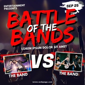battle of the bands video template