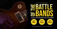Battle Of The BandsFacebook Event Video template