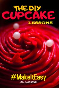 Cupcake Pinterest Post Template