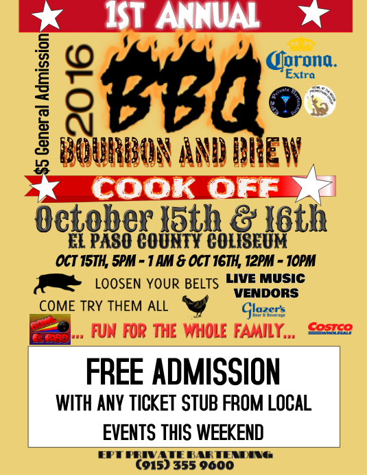 Bbq Cook Off Template  Postermywall