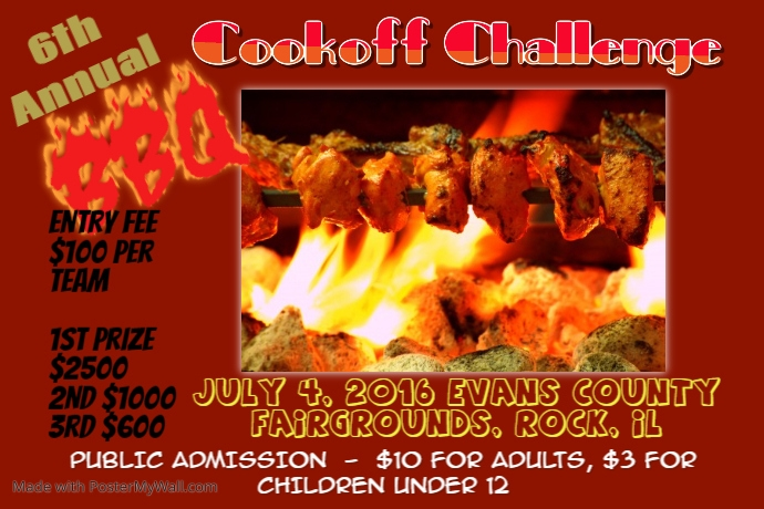 BBQ COOKOFF CONTEST