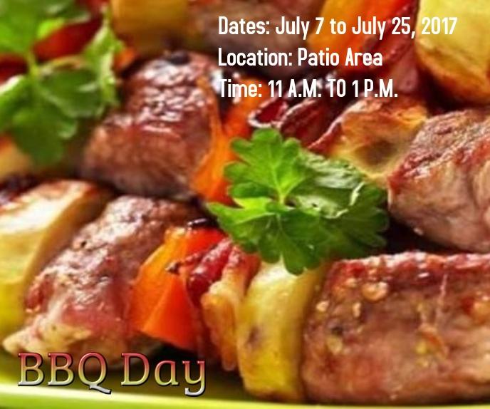 BBQ DAY Malaking Rektangle template