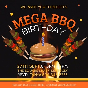BBQ Event Invitation Video Template