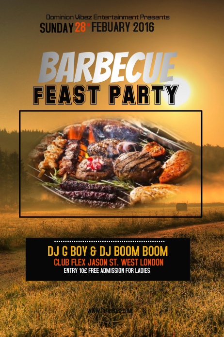BBQ FEAST PARTY