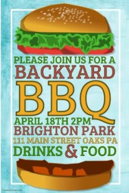 Customizable Design Templates for Bbq | PosterMyWall