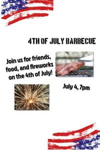 Barbecue Invitation Template