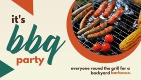 BBQ Party ส่วนหัวบล็อก template