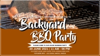 BBQ PARTY Digital Display (16:9) template