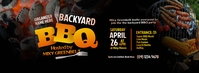BBQ party Facebook Cover Photo template