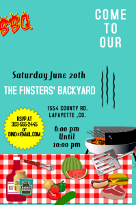 16 010 customizable design templates for bbq party postermywall