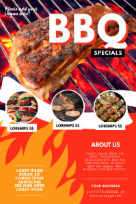 BBQ Specials Flyer Template
