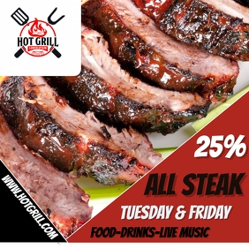 BBQ STEAK454