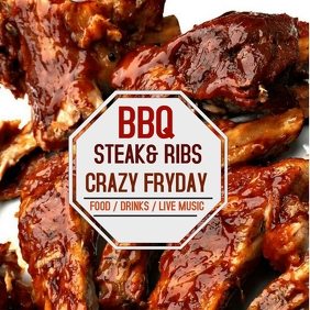 BBQ15945 Instagram Post template