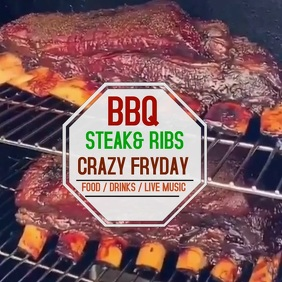 BBQ1819 Instagram Post template