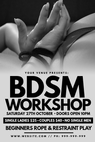 BDSM Workshop Poster