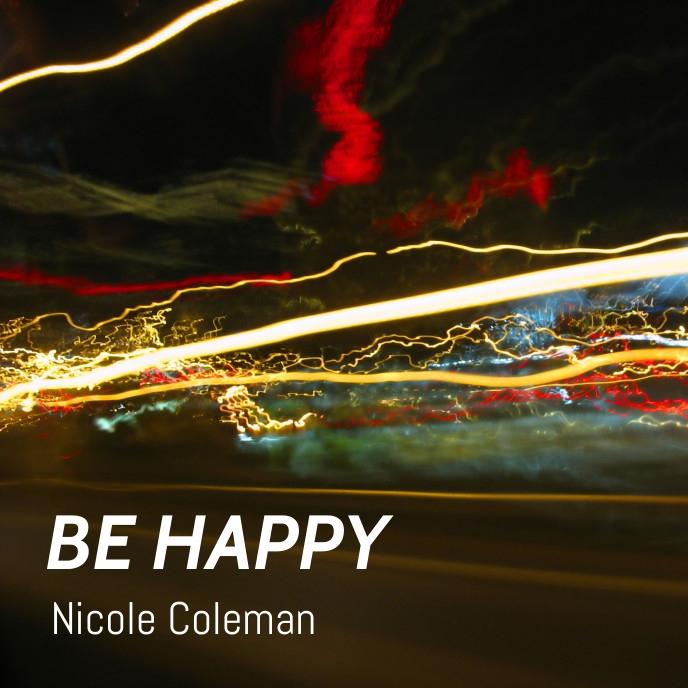 Be happy album Capa de álbum template