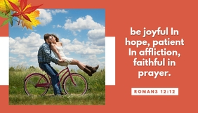 Be Joyful Header ng Blog template