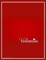 Be Mine Valentine Video Flyer