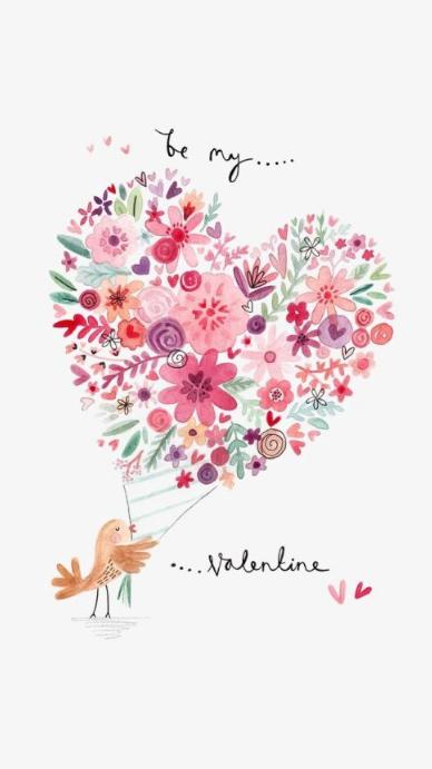 Be my Valentine Instagram Story template