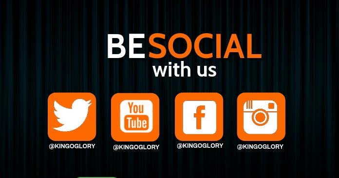 be social with us delt Facebook-billede template