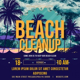 Beach Clean up Invitation Video