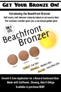 Beachfront Bronzer Poster