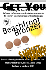 Beachfront Bronzer Poster