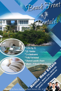 Beach Front Real Estate Template